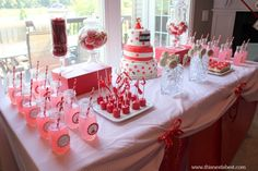Olivia the Pig Birthday Party – Dessert Bar | This Nest is Best