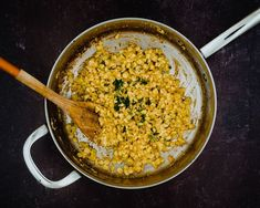 This Mexican Street Corn Skillet has all the flavor you love of Elote - made in one pan! Done in just 10 minutes, uses frozen corn, and minimizes the mess.