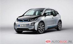 Fotos del #BMW i3 sin camuflaje