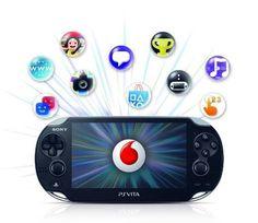 PS Vita: portable social entertainment.