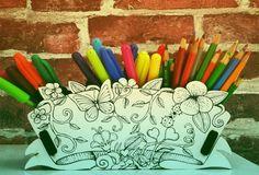 Objetos de colorir pegam carona na onda dos livros de colorir