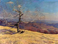 Edmund Gwerk - Jeseň na Sitne (Sitno in Fall) Landscape Paintings, Landscapes, Art Inspo, Fall, Autumn, Graphic Design, Inspiration, Painters, Study