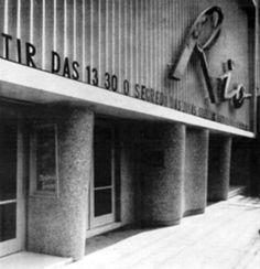 1950 - Cine Rio na rua da Consolação.