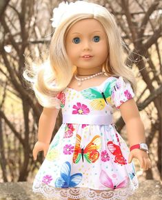 .  Victoria_  .  Victoria just couldn't wait for a nice warm Spring day to wear her lovely new dress from @dollicious_dollclothes .  #agig #agadultcollector #loveag #activeagig #trulyme22 #americangirldoll #famousdolls #agdollphotography