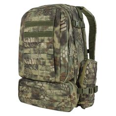 3-Day Assault Pack from Condor Outdoor Products, Inc in genuine Mandrake camouflage from Kryptek Outdoor Group is a new addition to Military 1st range of tactical backpacks. £129.99
