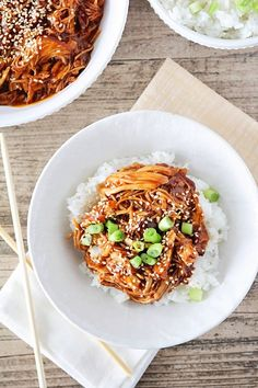 Instant Pot Honey Sesame Chicken from the Baker Upstairs