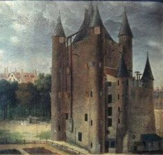 The medieval fortress Temple in Paris were the Bourbon family was imprisoned during the French Revolution.