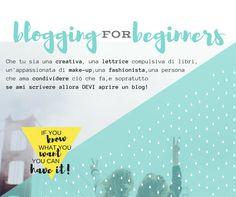 Simona S. - la Creative Room: Blogging for Beginners: perchè aprire un blog? (parte 1)
