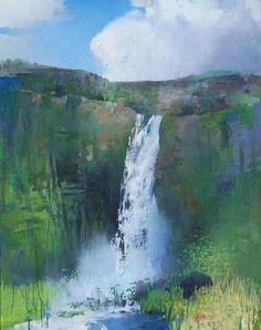 Painter's Process - Randall David Tipton: Gjain oil on canvas 30x24 #abstractart