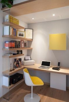 Home Office Design Ideas - Whether you have a dedicated home office room or you're hoping to create an work or hobby area in your living room, dining room or even bedroom, we have all the inspiration and advice you need. Home office design layout, home office ideas for small spaces, small office, modern ideas, and office ideas on a budget. #OfficeRoomIdeas #HomeOfficeDesign