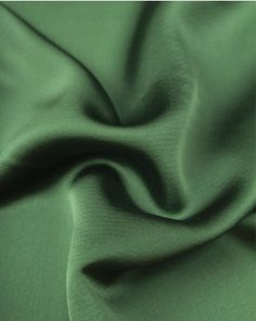 Slightly heavier than a typical liquid satin, but with more drape than your average crepe backed satin, this stunning fabric is perfect for evening wear Satin Fabric, Emerald Green, Luxury