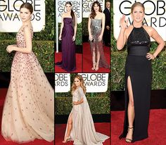 Golden Globes 2015 Red Carpet Fashion: What the Stars Wore