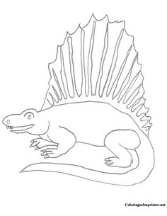 Ceratosaurus Coloring Page