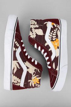 Van Doren Sk8 Hi Sneaker  Maroon #UrbanOutfitters