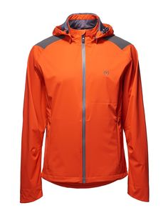 Deluge Jacket in Mandarin by Vulpine cycling clothes Cycling Clothes c4db745ea