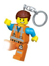 Lego Movie Emmet Keylight Keyring
