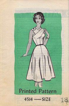 Anne Adams 4514 circa 1959 dress