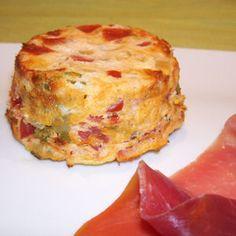 Légèreté & Gourmandises: Fondants aux tomates et a la coriandre (1 PP)