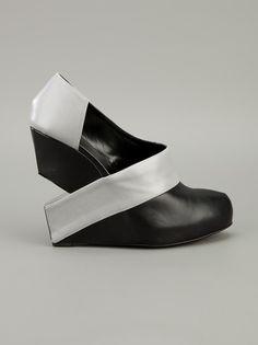 CHARLINE DE LUCA - wedge heel shoe