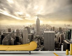A tündöklő Manhattan fotótapéta 280x200cm #fototapeta #poszter_tapeta #poszter #new_york Manhattan Skyline, New York Skyline, Photo Wallpaper, Prints, Pictures, Travel, Beautiful, Facebook, Twitter