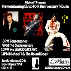 Micheal T Presents Remembering Elvis : 40th Anniversary Tribute