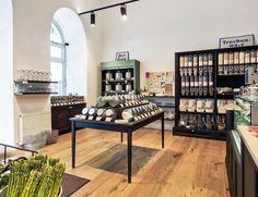 LUNZERS MASS-GREISSLEREI Heinestraße Corporate Design, Service Design, Studio, Shopping, Furniture, Zero Waste, Home Decor, Behance, Food
