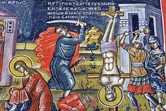 Loukilianos Illuminated Manuscript, Religious Art, Mosaic, Comic Books, Comics, Cover, Painting, Byzantine, Saints
