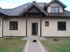 Front domu  #elewacja #projekt #dom
