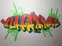 Graffiti Muhammed Logos, Graffiti, Arabic Calligraphy, Logo, Arabic Calligraphy Art, Graffiti Artwork, Street Art Graffiti