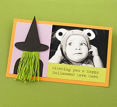 Set a spooky or playful tone for your Halloween party with these frighfully fun invitations. We also have great ideas for photo cards so that you can wish friends and family a hauntingly happy Halloween!