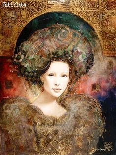 Csaba Markus (born January is a Hungarian born American artist, painter, sculptor and publisher. As an artist, he primarily works in the field of printmaking, with a particular focus on etching and serigraphy. Portrait Paintings, Portrait Art, Art Paintings, Portraits, Figure Painting, Painting & Drawing, Art Academy, Russian Art, Klimt