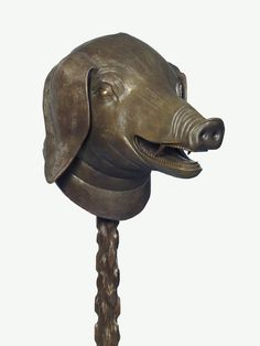 Ai Weiwei artwork called Zodiac Head, a bronze cast head of a pig. Carnegie Museum Of Art, Art Museum, Animal Sculptures, Lion Sculpture, Chinese Mask, Andy Warhol Museum, Ai Weiwei, Sculpture Projects, Chinese Zodiac