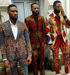 Brotha's styling African print