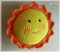 Patron gratuito sol amigurumi - sun amigurumi free pattern