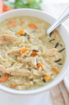 Copycat Recipe for Panera's Chicken and Wild Rice Soup! This recipe is so simple and so delicious!