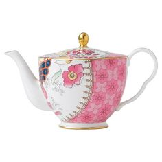 Wedgwood Butterfly Bloom Teapot from the Fanciful Fare event at Joss and Main!