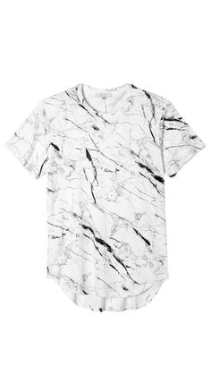 Marble Scallop Tee