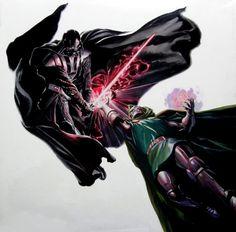 Vader vs Doom by Alex Ross