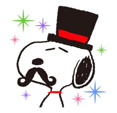 Snoopy, the dog of a thousand faces, is here to laugh, cry, smile, and blunder his way into your heart. He's also out to liven up chats with a little mischief! Face Lines, Snoopy And Woodstock, Line Store, Peanuts Snoopy, Line Sticker, Emoticon, Funny Faces, Comic Strips, Minnie Mouse