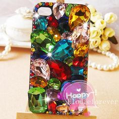 Super Luxury Bling bling iphone case 3D iPhone 4 by Elodieforever, $25.99