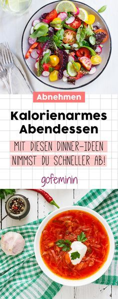 Little calories, a lot of taste! The best recipes for a low-calorie lunch - Leichte Rezepte // Gesunde Rezepte - Gesundes Essen Lunch Recipes, Low Carb Recipes, Diet Recipes, Healthy Recipes, Delicious Recipes, Diabetic Recipes, Low Calorie Lunches, Low Calorie Dinners, Healthy Eating Tips