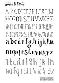 How To Hand Letter Free Bullet Journal Hand Lettering Alphabet within Handlettering Letters Bullet Journal Police, Bullet Journal Alphabet, Bullet Journal Printables, Bullet Journal Inspiration, Hand Lettering Fonts, Doodle Lettering, Creative Lettering, Lettering Ideas, Bullet Journal Fonts Hand Lettering