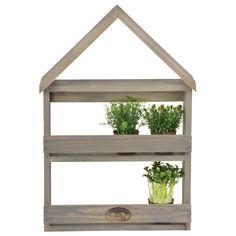 Așezați plantele dvs. favorite în acest suport! Pe acest suport acestea vor fi protejate și vor arăta mai bine decât vreodată. Combinația dintre lemn învechit și verde proaspăt vor crea un efect special, astfel încât nu veți fi dezamăgiți.  Înconjurați-vă cu flori și oxigen proaspăt.