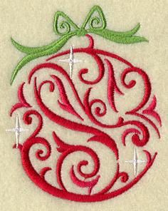 Machine Embroidery Designs at Embroidery Library! - Bulbs & Ornaments
