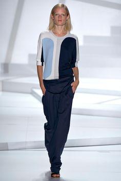 @Josie Natori #catwalk #MBFWNY #New_York #SS_2013 #geometry #trends #in