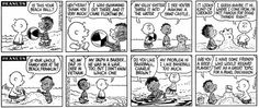 """How Peanuts got its first black character. """"Either you print it just the way I draw it or I quit. How's that?"""""""