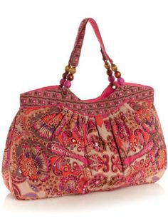 Art Nouveau Beaded Bag