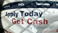Apply today Get cash by tomorrow