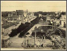 Roman Forum, c. 1863 Photo by: James Anderson Taken from: www.archart.it
