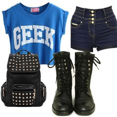 """""""cute back to school outfit"""""""